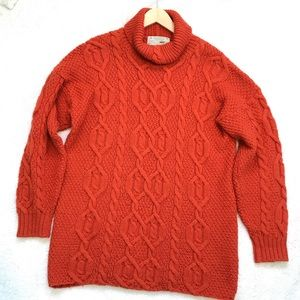Shamrock Apparel | Cable Knit Wool Sweater